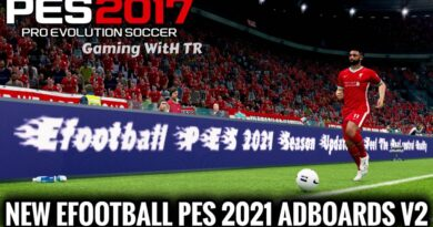 PES 2017 | NEW EFOOTBALL PES 2021 ADBOARDS V2 | UNOFFICIAL VERSION | DOWNLOAD & INSTALL