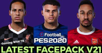 PES 2020   LATEST FACEPACK V21   DOWNLOAD & INSTALL