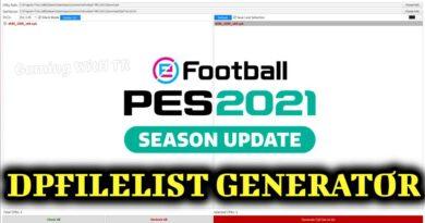 PES 2021 | DPFILELIST GENERATOR | DOWNLOAD & INSTALL