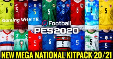 PES 2020 | NEW MEGA NATIONAL KITPACK 20-21 | SEASON UPDATE 20-21 | DOWNLOAD & INSTALL