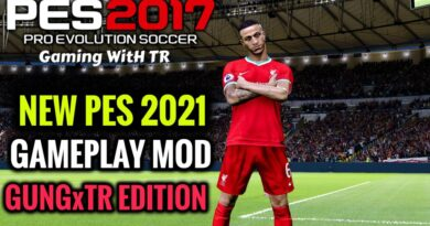 PES 2017 | NEW PES 2021 GAMEPLAY MOD | GUNGxTR EDITION | DOWNLOAD & INSTALL