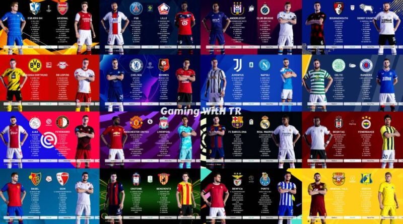 PES 2021 | ALL LEAGUE BACKGROUND MOD | DOWNLOAD & INSTALL