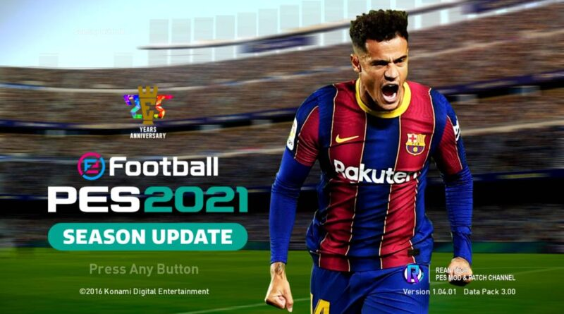 PES 2017 | BRAND NEW GRAPHIC MENU 2021 V2 | SEASON UPDATE 20-21 | DOWNLOAD & INSTALL