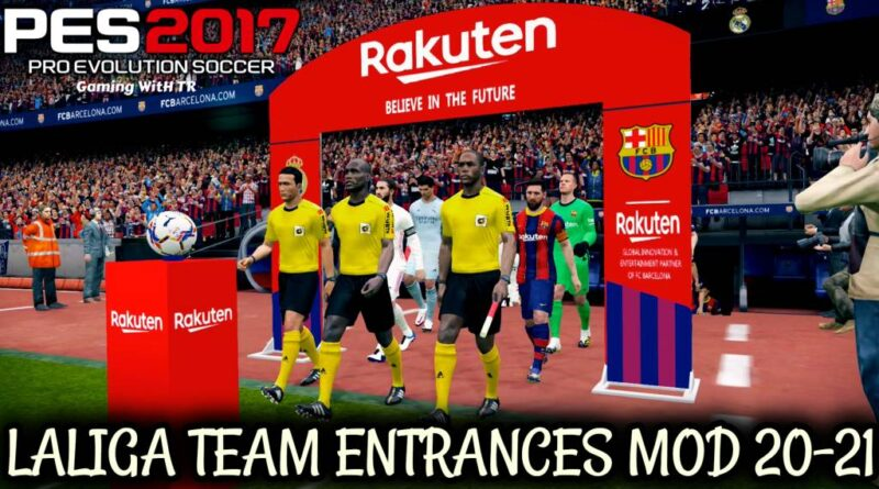 PES 2017 | LALIGA TEAM ENTRANCES MOD 20-21 | DOWNLOAD & INSTALL