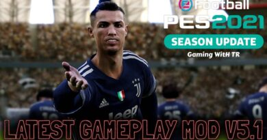 PES 2021 | LATEST GAMEPLAY MOD V5.1 | DOWNLOAD & INSTALL