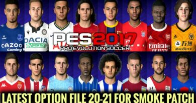 PES 2017   LATEST OPTION FILE 20-21   SMOKE PATCH   OCTOBER UPDATE   DOWNLOAD & INSTALL