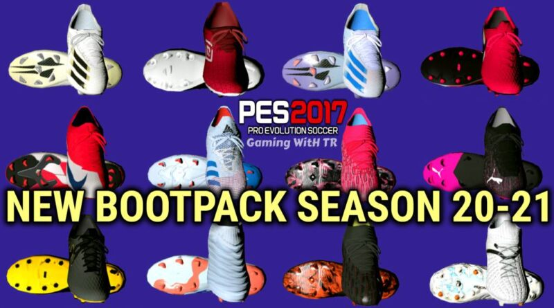 PES 2017 | NEW BOOTPACK | SEASON 20-21 | OCTOBER UPDATE | DOWNLOAD & INSTALL