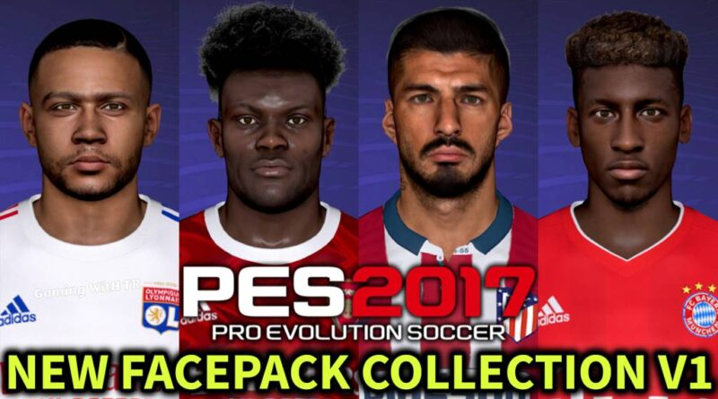 PES 2017 | NEW FACEPACK COLLECTION V1 | DOWNLOAD & INSTALL