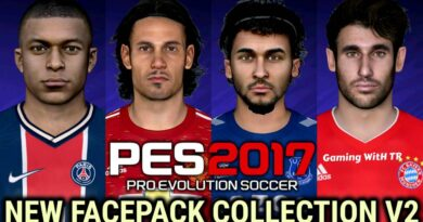 PES 2017   NEW FACEPACK COLLECTION V2   DOWNLOAD & INSTALL