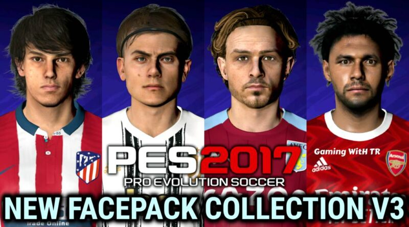PES 2017 | NEW FACEPACK COLLECTION V3 | DOWNLOAD & INSTALL