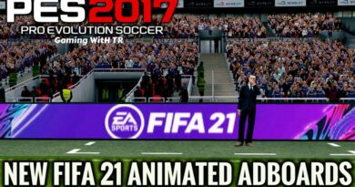 PES 2017 | NEW FIFA 21 ANIMATED ADBOARDS | DOWNLOAD & INSTALL