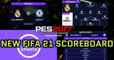 PES 2017 | NEW FIFA 21 SCOREBOARD | DOWNLOAD & INSTALL