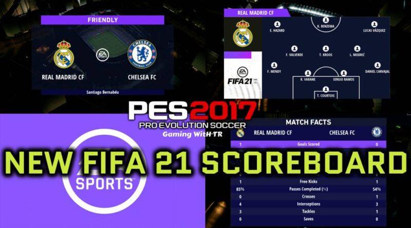 PES 2017   NEW FIFA 21 SCOREBOARD   DOWNLOAD & INSTALL