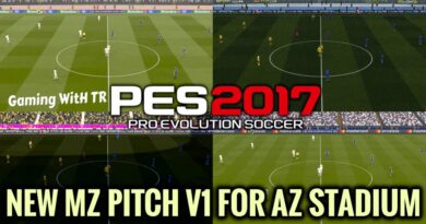 PES 2017 | NEW MZ PITCH V1 FOR AZ STADIUM | DOWNLOAD & INSTALL