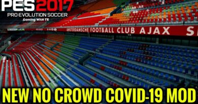 PES 2017 | NEW NO CROWD COVID-19 MOD | DOWNLOAD & INSTALL