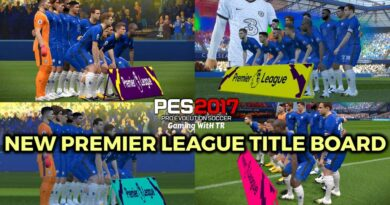 PES 2017 | NEW PREMIER LEAGUE TITLE BOARD | DOWNLOAD & INSTALL