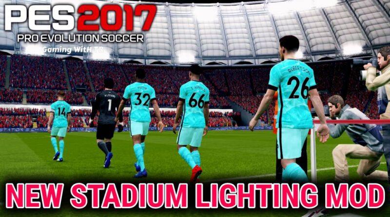 PES 2017 | NEW STADIUM LIGHTING MOD | HALO-EFFECT | DOWNLOAD & INSTALL