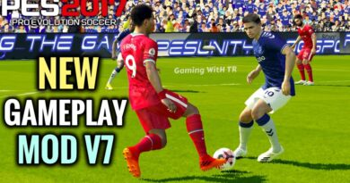 PES 2017 NEW GAMEPLAY MOD V7 CPK VERSION DOWNLOAD & INSTALL