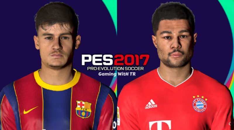 PES 2017 | PHILIPPE COUTINHO & SERGE GNABRY | LATEST LOOK 2020 | DOWNLOAD & INSTALL