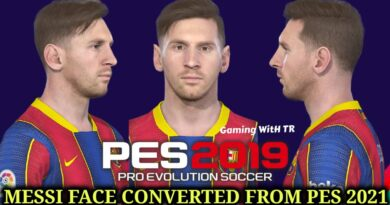 PES 2019 | NEW LIONEL MESSI FACE CONVERTED FROM PES 2021 | DOWNLOAD & INSTALL