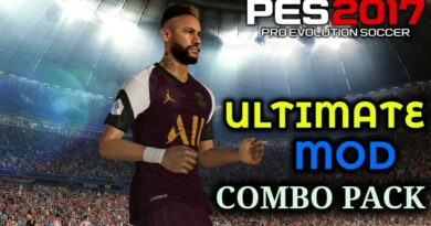 PES 2017 | ULTIMATE MOD | COMBO PACK | GFX | PITCH | GAMEPLAY PES 2021 | DOWNLOAD & INSTALL