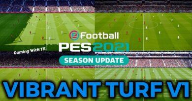 PES 2021 | VIBRANT TURF V1 | DOWNLOAD & INSTALL