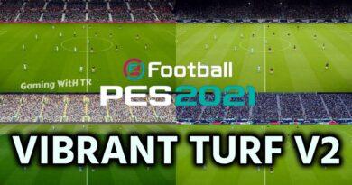PES 2021 | VIBRANT TURF V2 | DOWNLOAD & INSTALL