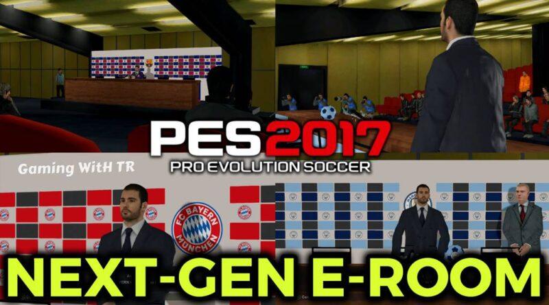 PES 2017   NEXT-GEN E-ROOM   DOWNLOAD & INSTALL