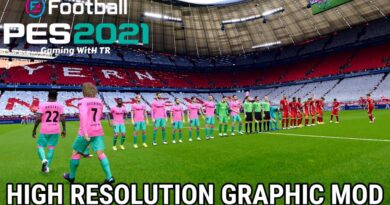 PES 2021 | HIGH RESOLUTION GRAPHIC MOD | VANILLA DELUXE | DOWNLOAD & INSTALL