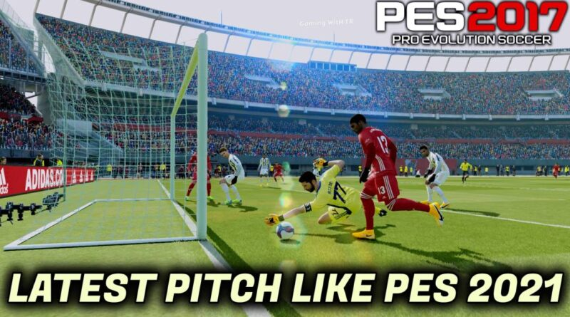 PES 2017 | LATEST PITCH LIKE PES 2021 | YRF PITCH V11 | DOWNLOAD & INSTALL