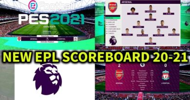 PES 2021 | NEW EPL SCOREBOARD 20-21 | DOWNLOAD & INSTALL