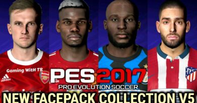 PES 2017 | NEW FACEPACK COLLECTION V5 | DOWNLOAD & INSTALL