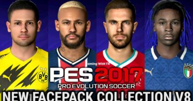 PES 2017   NEW FACEPACK COLLECTION V8   DOWNLOAD & INSTALL