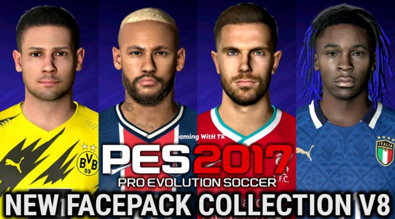 PES 2017 | NEW FACEPACK COLLECTION V8 | DOWNLOAD & INSTALL