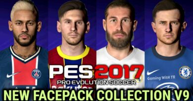 PES 2017 | NEW FACEPACK COLLECTION V9 | DOWNLOAD & INSTALL