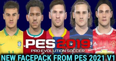PES 2019   NEW FACEPACK FROM PES 2021 V1   DOWNLOAD & INSTALL