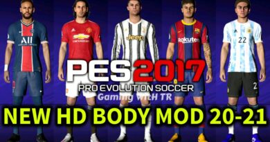 PES 2017   NEW HD BODY MOD 20-21   DOWNLOAD & INSTALL
