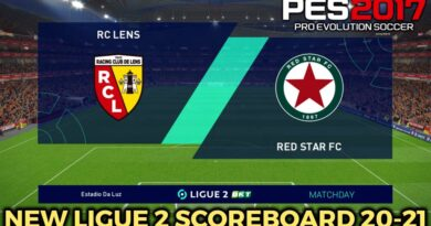 PES 2017 | NEW LIGUE 2 SCOREBOARD 20-21 | DOWNLOAD & INSTALL
