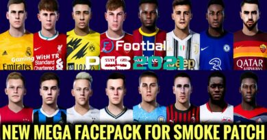 PES 2021 | NEW MEGA FACEPACK FOR SMOKE PATCH | 2707+ FACES | DOWNLOAD & INSTALL