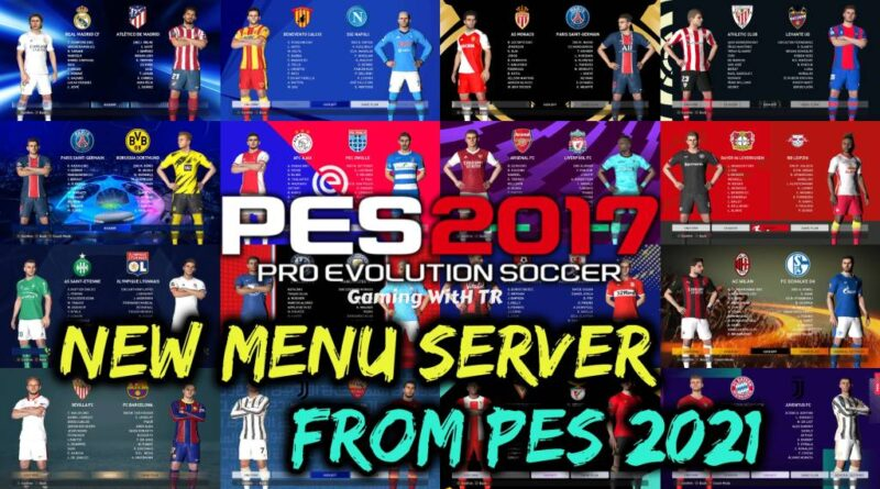 PES 2017 | NEW MENU SERVER FROM PES 2021 | DOWNLOAD & INSTALL