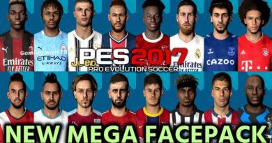 PES 2017 | NEW MEGA FACEPACK | 60+ NEW FACES | DOWNLOAD & INSTALL