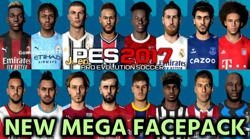 PES 2017 | NEW MEGA FACEPACK | 60+ NEW FACES | DOWNLOAD & INSTALL