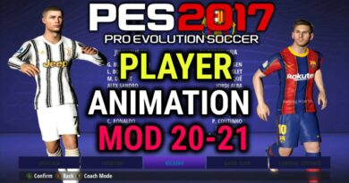 PES 2017 | PLAYER ANIMATION MOD 20-21 | DOWNLOAD & INSTALL