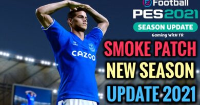 PES 2021 | SMOKE PATCH NEW SEASON UPDATE 2021 | DOWNLOAD & INSTALL
