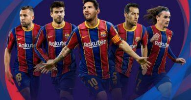 PES 2017   BARCELONA   PES 2021 GRAPHIC MENU   DOWNLOAD & INSTALL