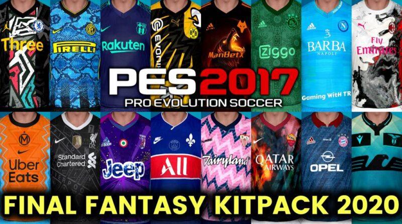 PES 2017 | FINAL FANTASY KITPACK 2020 | DOWNLOAD & INSTALL
