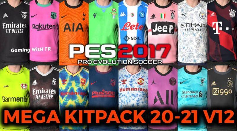PES 2017 | MEGA KITPACK 20-21 | 160 TEAMS KITS V12 | DOWNLOAD & INSTALL