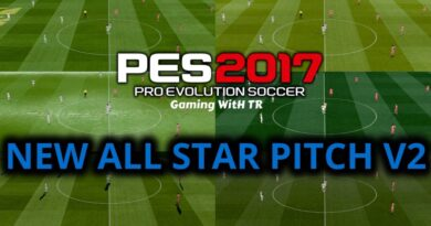 PES 2017 | NEW ALL STAR PITCH V2 FOR MJTS STADIUM | DOWNLOAD & INSTALL