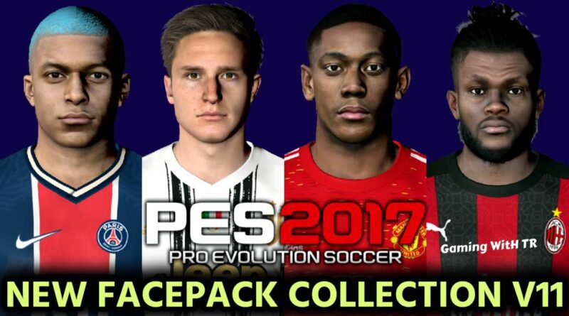 PES 2017 | NEW FACEPACK COLLECTION V11 | DOWNLOAD & INSTALL