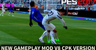 PES 2017   NEW GAMEPLAY MOD V8   CPK VERSION   DOWNLOAD & INSTALL